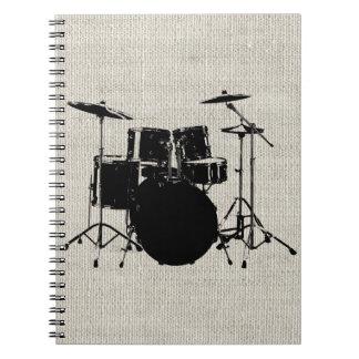 Rock n Roll Drums Notebook