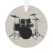 Rock n Roll Drums Ornament