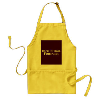 Rock N Roll Forever Gifts Adult Apron