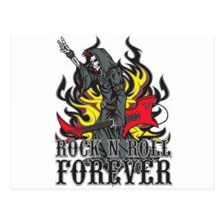 Rock N Roll Forever Postcard
