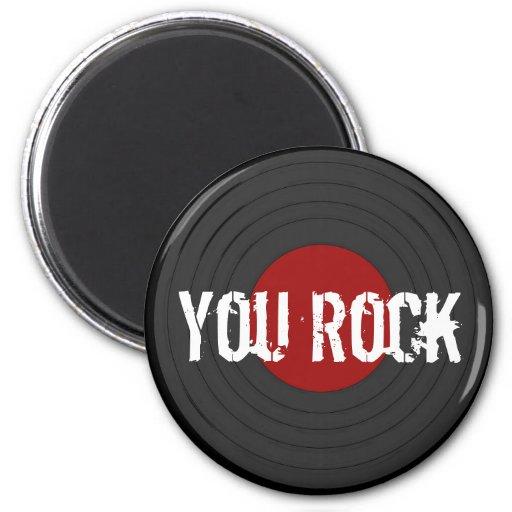 Rock N Roll Fridge Magnets