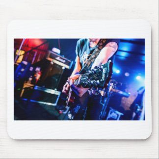 Rock 'n' Roll Guitar Mouse Pad