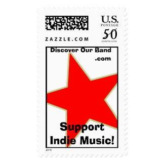 Rock n Roll Indie stamps