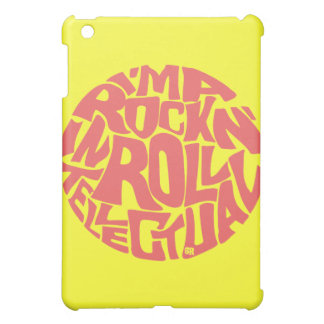 ROCK N' ROLL INTELLECTUAL COVER FOR THE iPad MINI