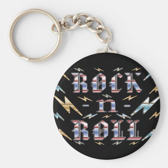 Rock-n-Roll Keychain