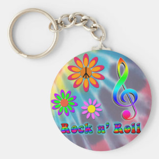 Rock n' Roll Keychain