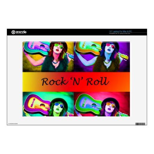 Rock N Roll Laptop Skin