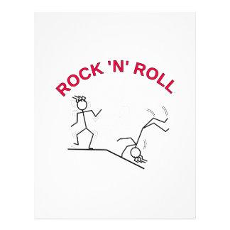 Rock 'N' Roll Letterhead