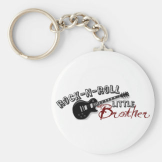 Rock-n-Roll Little Brother Keychain
