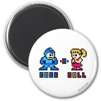 Rock-n-Roll Refrigerator Magnet
