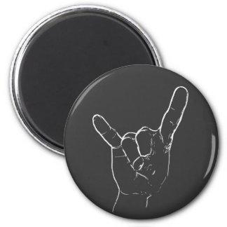 Rock 'n Roll magnet