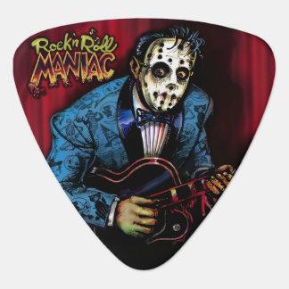 Rock n Roll Maniac Rockabilly Guitar Pick