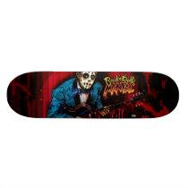 Rock n Roll Maniac Rockabilly Skateboard Deck