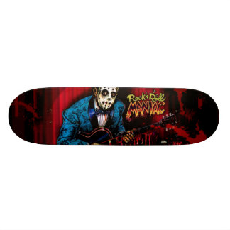Rock n Roll Maniac Rockabilly Skateboard Deck