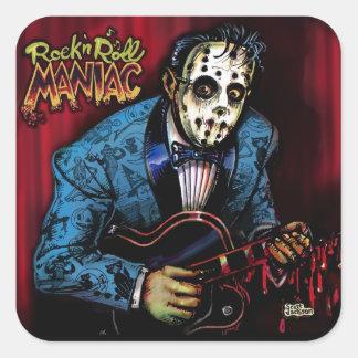 Rock n Roll Maniac Rockabilly Sticker