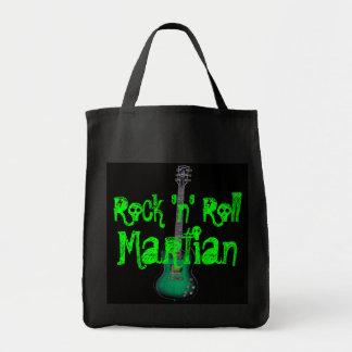 Rock 'n' Roll Martian Tote Bag