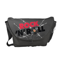 Rock N Roll Messenger Bag