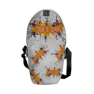 Rock N Roll Messenger Bag