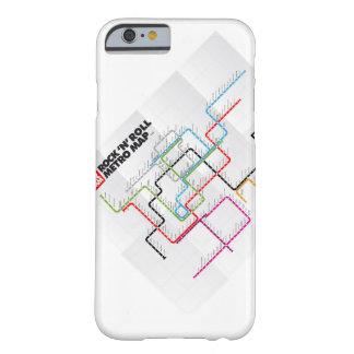 Rock 'n Roll Metro Map (History of Rock Music) Barely There iPhone 6 Case