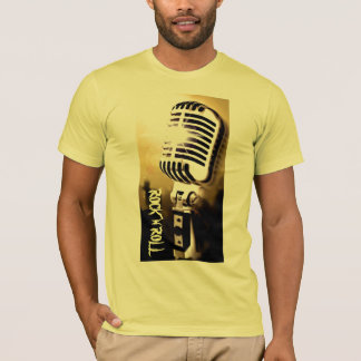 Rock n Roll Microphone T-Shirt