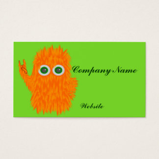 Rock N Roll Monster Business Card