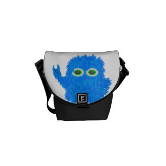 Rock N Roll Monster Courier Bag