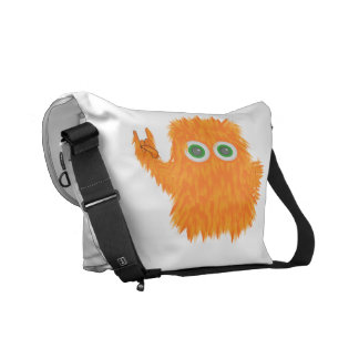 Rock N Roll Monster Courier Bags