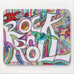 rock n roll mousepad