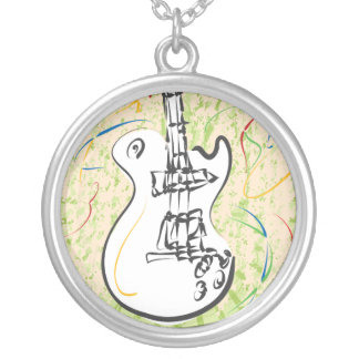 Rock n Roll Music Necklace