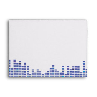 Rock n Roll Musical Bar Bat Mitzvah envelope