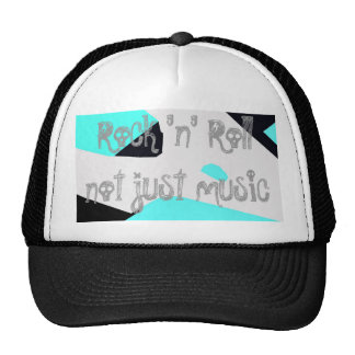 Rock n Roll not just music Mesh Hat