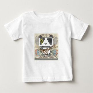 Rock 'N' Roll Panda Baby T-Shirt