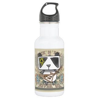 Rock 'N' Roll Panda Stainless Steel Water Bottle