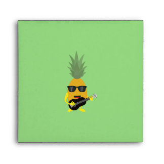 Rock 'n' Roll Pineapple Envelope