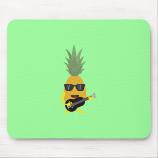 Rock 'n' Roll Pineapple Mouse Pad