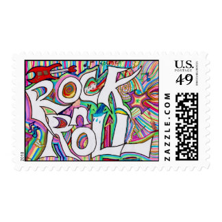 rock n roll postage