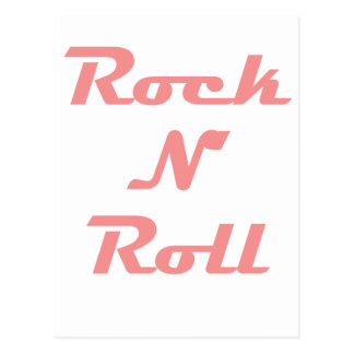 Rock N Roll! Postcard