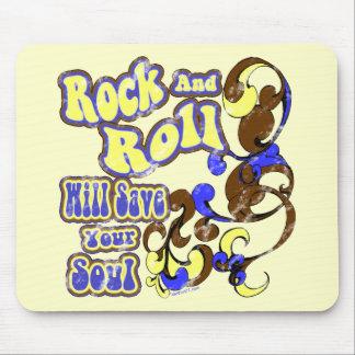 Rock N Roll Saves Mousepad