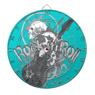 Rock n' Roll Skulls Dart Boards