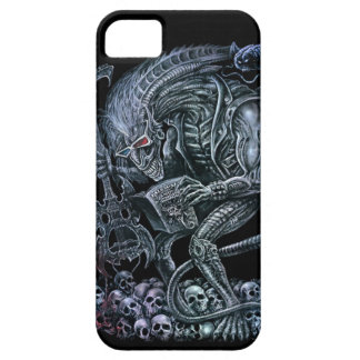 Rock 'n' Roll Space Monster iPhone 5 Case