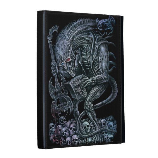Rock 'n' Roll Space Monster iPad Cases