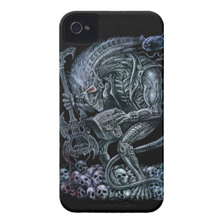 Rock 'n' Roll Space Monster iPhone 4 Cover