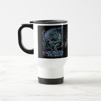 Rock 'n' Roll Space Monster Travel Mug