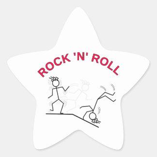 Rock 'N' Roll Star Sticker