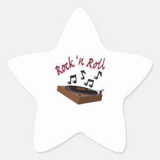 Rock n Roll Star Sticker