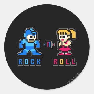 Rock-n-Roll Round Sticker