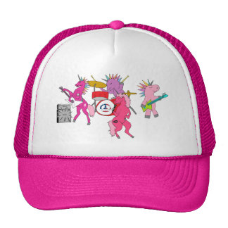 Rock n Roll Unicorn Trucker Hat