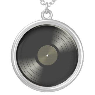 Rock n Roll Vinyl Record Album Necklace