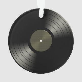 Rock n Roll Vinyl Record Album Ornament