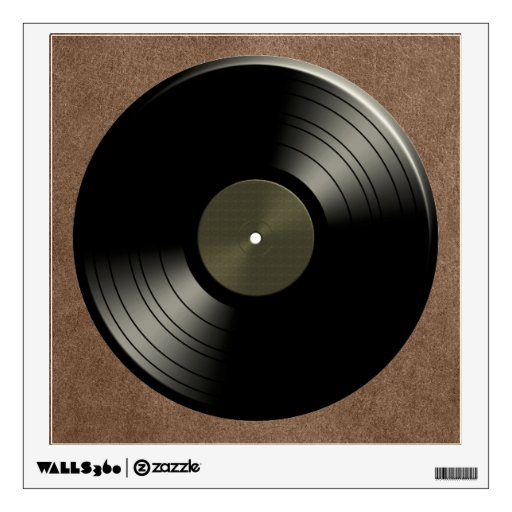 Rock N Roll Vinyl Record Album Wall Skins Zazzle